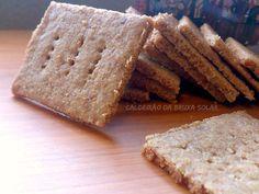 Biscoitos Graham Crackers caseiros