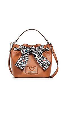9d9ea35ac MOSCHINO Women's Love Moschino Cross Body Bag with Bow