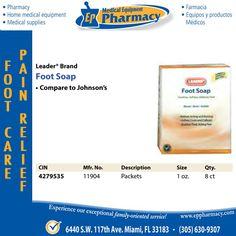 Leader Brand Foot Soap - via: @eppharmacy