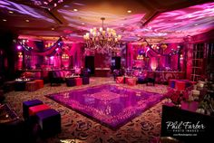 OBSESSED with this vinyl dance floor.     Event Planners: Sabrina Hans Events  Photographer: Phil Farber  Decor: Kehoe Designs  Venue: Ritz Carlton, Chicago    https://www.facebook.com/pages/Sabrina-Hans-Events/175438809166048
