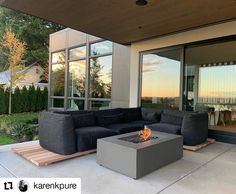 A gorgeous autumn sunset shot from k'pure naturals! Indoor outdoor living at it's finest with custom Westeck windows and patio opening. #customhomes #sunsets #customwindows #windowdesign #highperformancewindows #patiodoordesign #beautifulhomesofinstagram Window Design, Door Design, Indoor Outdoor Living, Outdoor Decor, Custom Windows, Wood Doors, Windows And Doors, Custom Homes, Sunsets