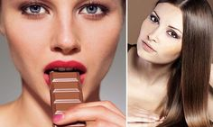 Eat chocolate to banish greys: How to munch your way to younger hair