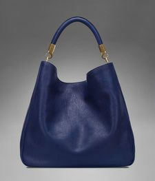 Large YSL Roady in Dark Blue Leather- love the but would rather another color.