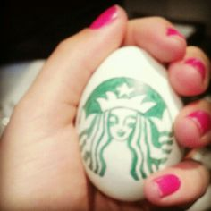 Starbucks Easter Egg