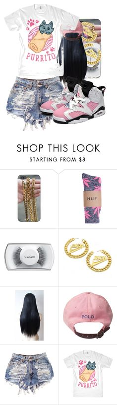 """."" by thaofficialtrillqueen ❤ liked on Polyvore featuring MAC Cosmetics and Retrò"