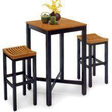 Parker 3 Piece Pub Table Set