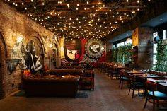 Art Meets Street Food Inside New York's Vandal Restaurant Vandal, restaurant in NY.Vandal, restaurant in NY.