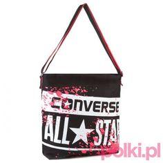 Wakacyjna torba z nadrukiem Converse #polkipl