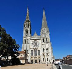 Chartres Cathedral, also known as Cathedral Basilica of Our Lady of Chartres (), is a medieval Catholic cathedral of the Latin Church located in Chartres, France, about southwest of Paris. Description from imgarcade.com. I searched for this on bing.com/images