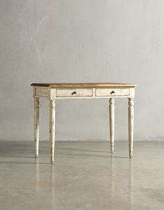 The FLORENCE Desk - in French White - swooneditions.com