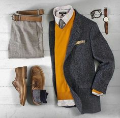 Outfit Ideas For Men: the latest trends in mens fashion and mens clothing styles Komplette Outfits, Casual Outfits, Fashion Outfits, Fashion Trends, Men's Fashion Tips, Sharp Dressed Man, Well Dressed Men, Dresscode Business, Stylish Men