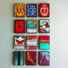 Colorful Sid Dickens display by @onequaintzebra