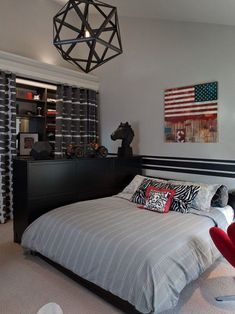 This is a Bedroom Interior Design Ideas. House is a private bedroom and is usually hidden from our guests. Much of our bedroom … Modern Teen Bedrooms, Teen Boy Rooms, Modern Room, Teen Boys, Boys Bedroom Decor, Bedroom Ideas, Bedroom Designs, Boys Room Design, Awesome Bedrooms