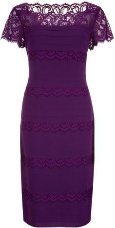 Jacques Vert Lace Pleat Layer Dress on shopstyle.co.uk