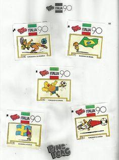 05- Álbum de Figurinhas Ping Pong - 1990