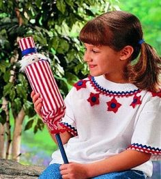 1000 images about july 4th on pinterest star spangled for Country woman magazine crafts