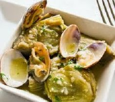 Clams with Artichokes (Almejas con Alcachofas)