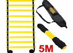 outdoortips  5M 10-rung Sports Agility Ladder For Speed/ Football Fitness Feet Training (Black) No description (Barcode EAN = 6910622393937). http://www.comparestoreprices.co.uk/football-equipment/outdoortips-5m-10-rung-sports-agility-ladder-for-speed-football-fitness-feet-training-black-.asp
