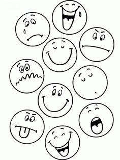 Activities To Teach Kids Emotions Art Drawings For Kids, Doodle Drawings, Drawing For Kids, Easy Drawings, Art For Kids, Drawing Ideas, Emoticons, Smileys, Stick Figure Drawing