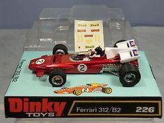 Annons på Tradera: Dinky toys no.226 Ferrari 312/B2