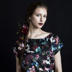 The material of the shirt is digital printed silk %) and cotton The fabric is printed in Italy and the shirt is sewn in Tampere. Sustainable Gifts, Piece Of Clothing, Flower Dresses, Cotton Silk, Flower Patterns, Beautiful Outfits, Knitwear, Floral Tops, Shirts