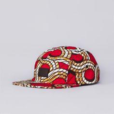 FLATSPOT X LESS LOGO CAMP CAP AFRICAN