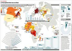 En chiffres  La francophonie dans tous ses Etats