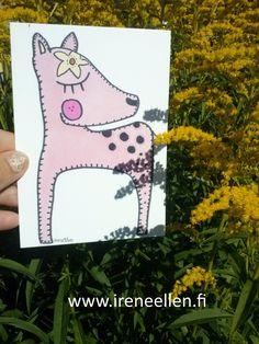 http://www.ireneellen.fi #IreneEllen #Perjantai #postikortti