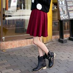 Buy 'J-ANN – A-Line Pleated Skirt ' with Free International Shipping at YesStyle.com. Browse and shop for thousands of Asian fashion items from South Korea and more!
