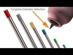 TIG Welding Myth - Tungsten Diameter Selection (Video 2 of 2) - YouTube