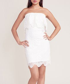 Dress Up, Show Up, and Never Give Up: A Bit of Motivation & A Few Cute Spring Dresses - Michele Christine Weinstein Lace Dress, Dress Up, White Denim Dress, White Lace, Colorful Heels, Nice Dresses, Formal Dresses, Costume, Spring Dresses