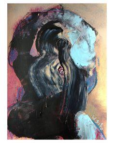 "Polubienia: 728, komentarze: 21 – wojciech sosidko (@w_sito) na Instagramie: ""Untitled (persona studies), oil on paper . . . . . . #art #sztuka #sztukapolska #portrait #oil…"""