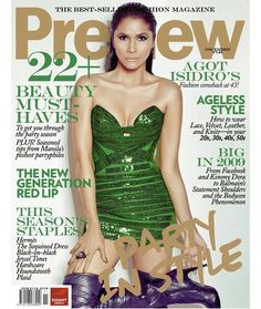 Preview Magazine [Philippines] (December 2009) Agot Isidro