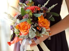 This heartfelt Loudoun County affair at Silverbrook Farm is tenderly developed through the lens of  Genevieve Leiper Photography's captivating imagery. Brilliant hues of orange, crimson, deep purples and dusty pinks comprise the couture Holly Heider Chapple floral arrangements. Each and every element of the event, from before the ceremony, right through dinner and on to …