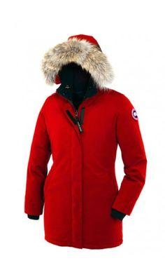 Canada Goose Victoria Parka Red Women #canadagoose #victoria #parka #women #jacket #fashion