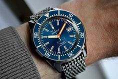 Squale 50 Atmos Blue dial version
