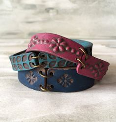 Yoga pulsera, abrigo de verano fresco, capas, inspirado de cuero, brazaletes alternativos, suroeste, Santa Fe, colorido, Boho, amistad