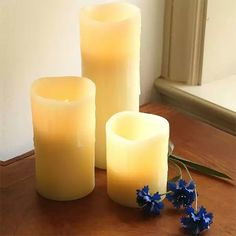 Battery-operated candles