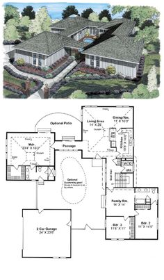 16 Best Courtyard House Plans images | Courtyard house plans ... Ranch Home Plans With Courtyards on craftsman house plans with courtyard, pool house plans with courtyard, tudor house plans with courtyard, victorian house plans with courtyard, log home with courtyard, spanish house plans with courtyard, small house plans with courtyard, florida house plans with courtyard, duplex plans with courtyard, southwestern house plans with courtyard, french country house plans with courtyard, southwest house plans with courtyard,
