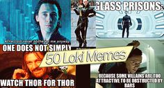 The sheer amount of memes I've been seeing lately on Tumblr has inspired this post. Besides the fact that I haven't done a funny post since Mrs. Brown on Trending Topics, and a really funny one since Robert Downey Sexy. So this is for my Tom Hiddleston / Loki fans out there! Marvel.