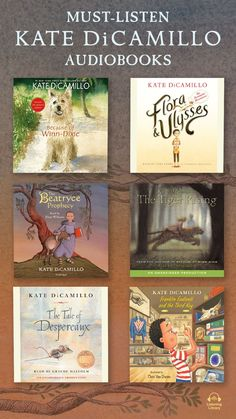 Discover classic tales from two-time Newbery Medalist Kate DiCamillo. Start listening! Kate Dicamillo, Book Nooks, Book Lists, Books To Read, Audiobooks, Homeschool, Author, Teaching, Illustration