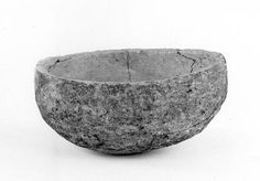 soapstone bowl from Viking woman's grave, Westness, Orkney, ca  850-950 (National Museum of Scotland)
