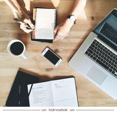 Dicas para se organizar no trabalho! #trabalho #office #work #segunda #inspiração #dicas #decoração #organização #planejamento #blog #moda #look #lnl #looknowlook