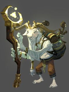 The Fourteen Gold Weapons - The Wizard. by Nesskain on DeviantArt