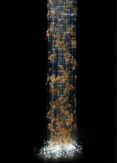 Sculptural Lighting - Amber