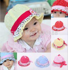 Encontrar Más Sombreros y Gorras Información acerca de Bebé recién nacido  de la muchacha del niño 062237d2c5fb