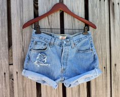 Vintage LEVI 501 Button Fly Jean Shorts  HIGH by TomieHarlene, $24.50
