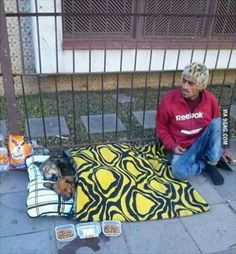 Some people are poor but rich by heart