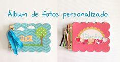scrap álbum de fotos Album, Scrapbooking, Gentleness, Ideas, Personalized Photo Albums, Scrapbooks, Memory Books, Scrapbook, Card Book