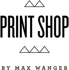 print shop by max wanger — pretty desgin